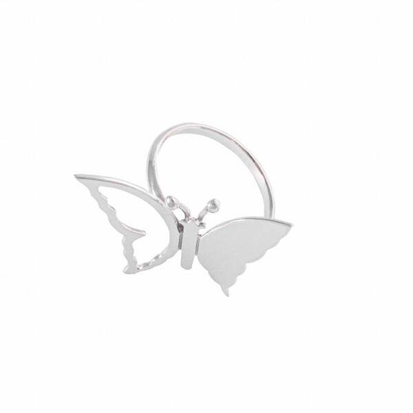 Anillo Mariposa de Plata