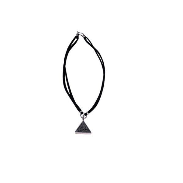 Collar Triángulo de Plata