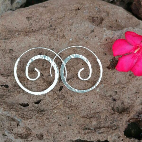 Aretes en forma de espiral